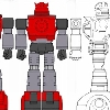 concept art for Hard Hero Cliffjumper statue