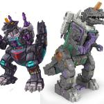 Initial Concept work illustrations used for design and development on Titan class Trypticon toy.