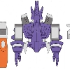 concept art for Hard Hero Galvatron statue bust