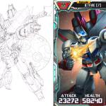 pencil art provided for TF Legends Jetfire art