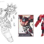 Winchargers pencil art was used as a card and also the card art for a recent TF Legends class Wincharger toy