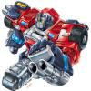 Colored final art (over Marcelo Materes pencils) for Cybertron series deluxe Optimus Prime toy