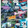 Transformers Prime magazine strip page sample commissioned by Rich T Media. Colors by Evan Guannt.